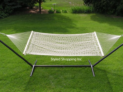 Extra-Large-Deluxe-2-Person-White-Rope-Hammock-Extra-Soft-Poly-Rope-0