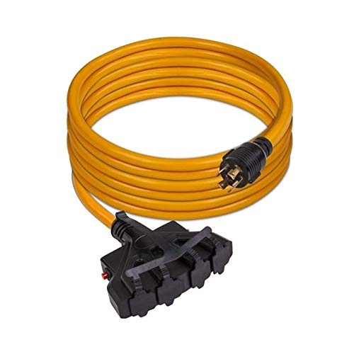 FIRMAN-Power-1120-Cord-25-ft-10AWG-with-Circuit-Breaker-30-Amps250-Volts-L14-30P-to-5-20R-4-0