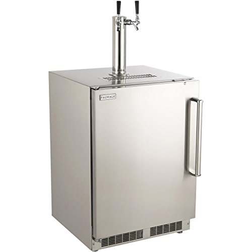 Fire-Magic-24-inch-Left-Hinge-Outdoor-Rated-Dual-Tap-Kegerator-3594-dl-0