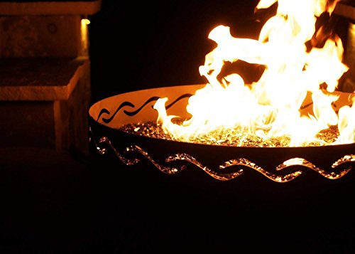 Fire-Pit-Art-Fire-Surfer-Fire-Pit-24-inch-Electronic-Ignition-Propane-0-2