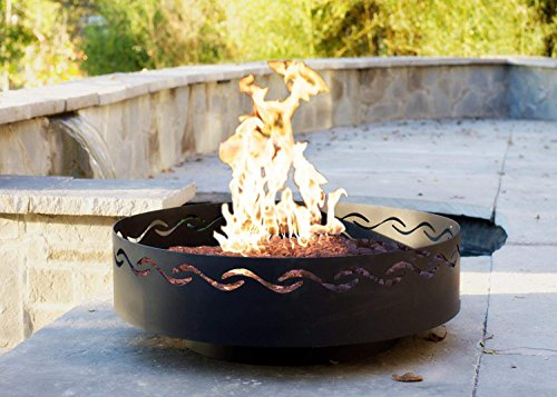 Fire-Pit-Art-Fire-Surfer-Fire-Pit-24-inch-Electronic-Ignition-Propane-0