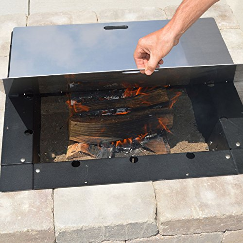 Firebuggz-44-x-32-Rectangle-Fire-Pit-Snuffer-Cover-0-1