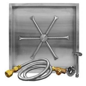 Firegear-32-inch-Square-Burning-Spur-Natural-Gas-Fire-Pit-Burner-Kit-Match-Light-Ignition-0