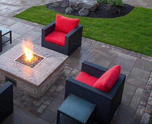 Firegear-Match-Light-Gas-Fire-Pit-Burner-Kit-FPB-25SFBS22MT-N-Square-Flat-Pan-25-x-25-inch-Natural-Gas-0-2