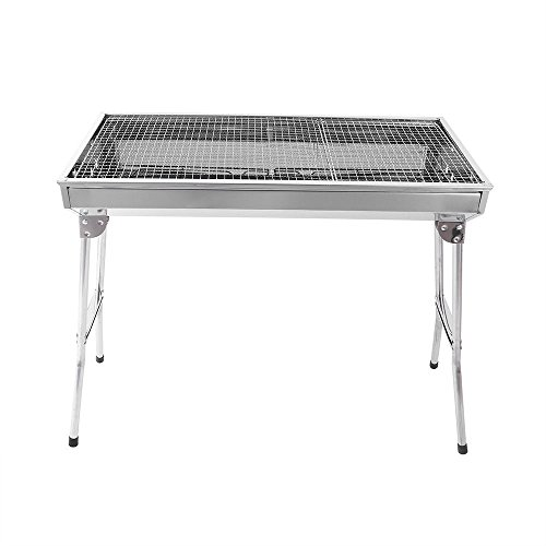 Fold-Barbecue-Charcoal-Grill-Stove-Shish-Kabob-Stainless-Steel-BBQ-Patio-Camping-0