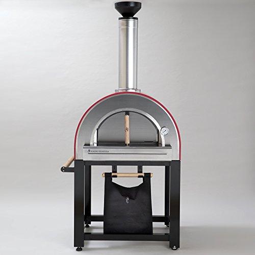Forno-Venetzia-FVP300R-Pronto-300-Red-Outdoor-Pizza-Oven-0-0