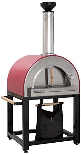 Forno-Venetzia-FVP300R-Pronto-300-Red-Outdoor-Pizza-Oven-0