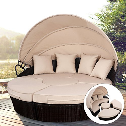 GG-Outdoor-Patio-Sofa-Canopy-Daybed-Furniture-Round-Retractable-Mix-Brown-Rattan-0