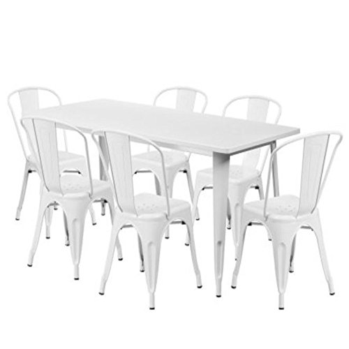 GT-Metal-Outdoor-Furniture-Sectional-Patio-Bistro-Set-Of-Seven-White-Set-Small-Porch-Furniture-Patio-Furniture-Balcony-Outside-Bistro-Table-and-Chairs-Set-E-book-By-Easy2Find-0