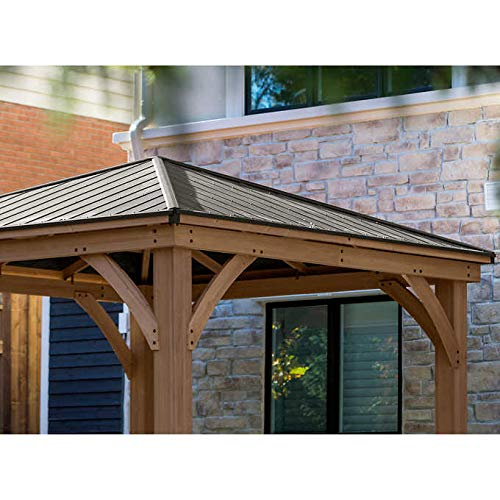 Gazebo-with-Aluminum-Roof-by-Yardistry-Cedar-Wood-12-x-12-Perfect-Addition-for-Patio-or-Garden-0-1