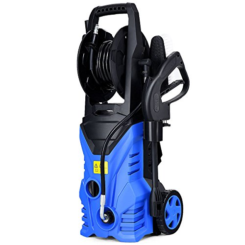 Globe-House-Products-GHP-1800W-2030PSI-17GPM-IPX5-Blue-Electric-High-Pressure-Washer-with-Hose-Reel-0