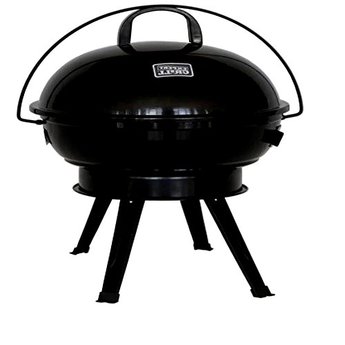 Go-Anywhere-Charcoal-Grill-for-Natural-BBQ-145-Pro-Dome-Expert-Grill-Backyard-Tabletop-Portable-Charbroiled-Round-Black-Charcoal-Grill-with-Handle-E-Book-0