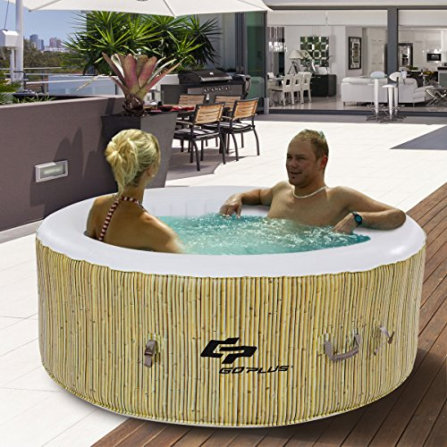 Goplus-4-Person-Inflatable-Hot-Tub-Outdoor-Jets-Portable-Heated-Bubble-Massage-Spa-Set-wFilter-Repair-Kit-Beige-0-0