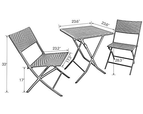 Grand-patio-Parma-Rattan-Patio-Bistro-Set-Weather-Resistant-Outdoor-Furniture-Sets-with-Rust-proof-Steel-Frames-3-Piece-Bistro-Set-of-Foldable-Garden-Table-and-Chairs-Brown-0-1
