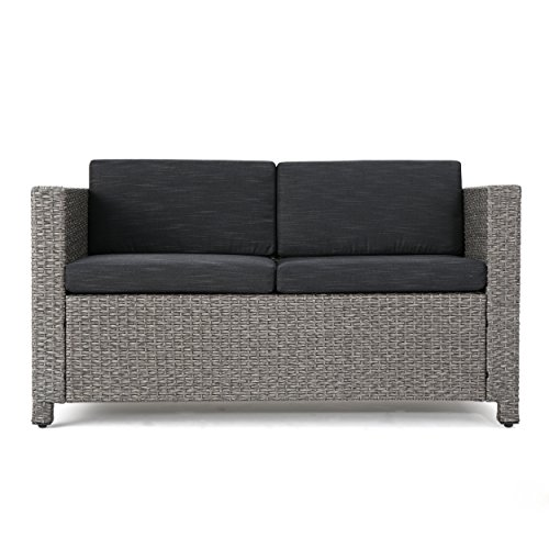Great-Deal-Furniture-Lorelei-Outdoor-Wicker-Loveseat-with-Cushions-Grey-and-Mixed-Black-0
