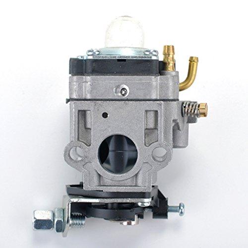 HIPA-300486-Carburetor-with-Gasket-Primer-Bulb-for-Earthquake-E43-E43CE-E43WC-Auger-MC43-MC43E-MC43CE-MC43ECE-MC43RCE-Tiller-MD43-WE43-WE43E-WE43CE-Edger-0-0