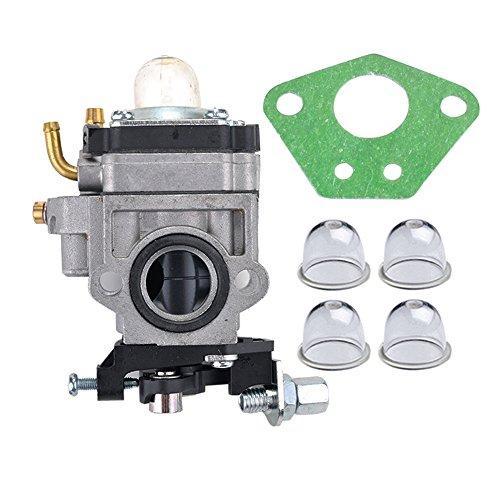HIPA-300486-Carburetor-with-Gasket-Primer-Bulb-for-Earthquake-E43-E43CE-E43WC-Auger-MC43-MC43E-MC43CE-MC43ECE-MC43RCE-Tiller-MD43-WE43-WE43E-WE43CE-Edger-0
