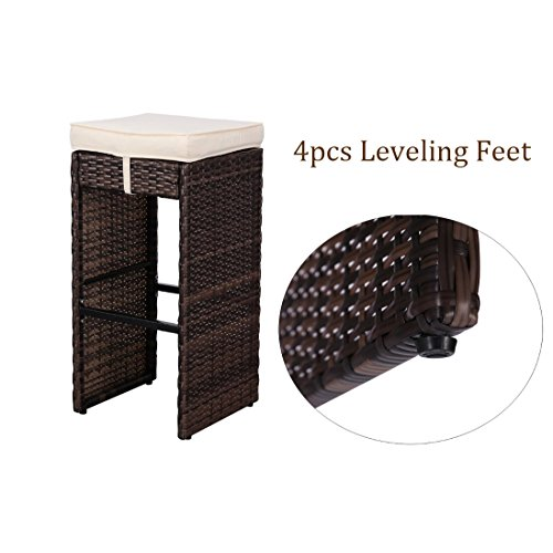 HTTH-7-Piece-Outdoor-Rattan-Wicker-Bar-Table-Chairs-Patio-Dining-Set-0-1