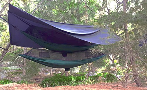 Hammock-Bliss-No-See-Um-No-More-The-Ultimate-Bug-Free-Camping-Hammock-100-250-cm-Rope-Per-Side-Included-Fully-Reversible-Ideal-Hammock-Tent-For-Camping-Backpacking-Kayaking-Travel-0-0