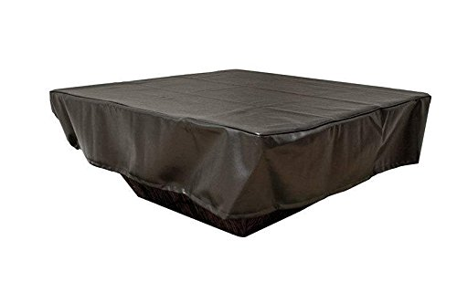 Hearth-Products-Controls-HPC-Black-Vinyl-Fire-Pit-Cover-FPC-62X30-Rectangular-62×30-Inch-0