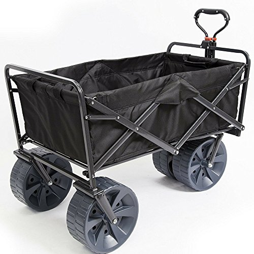 Heavy-Duty-Collapsible-Wagon-Fold-Up-Utility-Cart-Garden-Folding-Carts-Dump-Cart-Tools-Carrier-Wheel-Durable-4-Wheel-Adjustable-Handle-Easy-Transport-Movement-Camping-Outdoor-Lawn-eBook-By-NAKSHOP-0-6