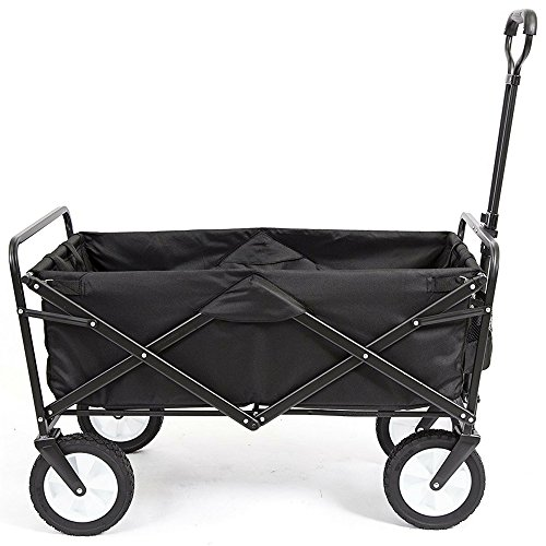 Heavy-Duty-Collapsible-Wagon-Fold-Up-Utility-Cart-Garden-Folding-Carts-Dump-Cart-Tools-Carrier-Wheel-Durable-4-Wheel-Adjustable-Handle-Easy-Transport-Movement-Camping-Outdoor-Lawn-eBook-By-NAKSHOP-0-7