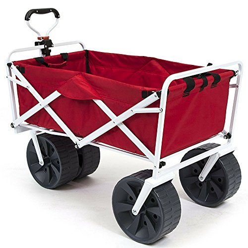 Heavy-Duty-Collapsible-Wagon-Fold-Up-Utility-Cart-Garden-Folding-Carts-Dump-Cart-Tools-Carrier-Wheel-Durable-4-Wheel-Adjustable-Handle-Easy-Transport-Movement-Camping-Outdoor-Lawn-eBook-By-NAKSHOP-0