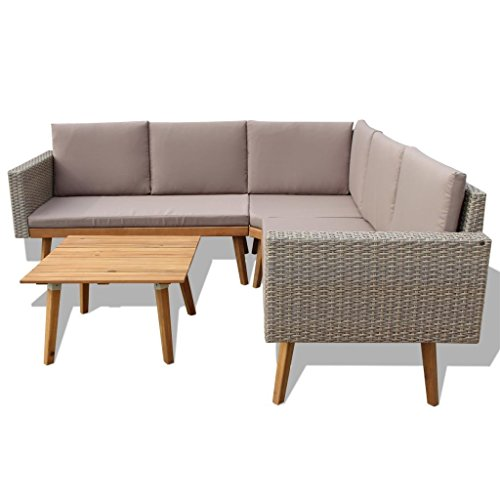 HomeDecor-13-Pieces-Vintage-Style-Grey-Rattan-Outdoor-Patio-Sofa-Couch-Seat-with-Wooden-Coffee-Table-Set-Outdoor-Patio-Furniture-0-1