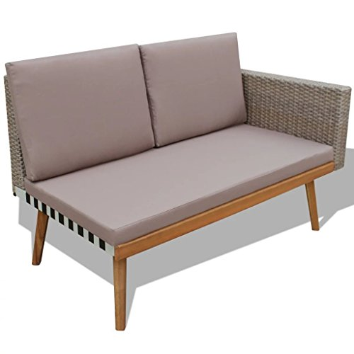 HomeDecor-13-Pieces-Vintage-Style-Grey-Rattan-Outdoor-Patio-Sofa-Couch-Seat-with-Wooden-Coffee-Table-Set-Outdoor-Patio-Furniture-0-2