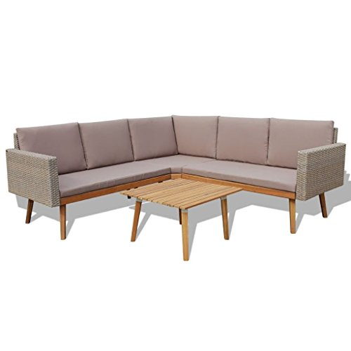 HomeDecor-13-Pieces-Vintage-Style-Grey-Rattan-Outdoor-Patio-Sofa-Couch-Seat-with-Wooden-Coffee-Table-Set-Outdoor-Patio-Furniture-0