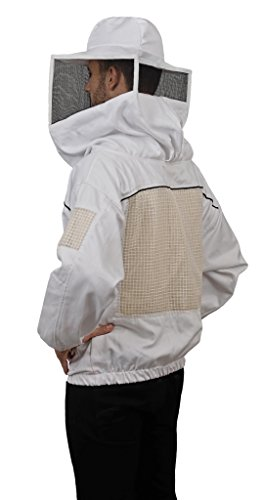 Humble-Bee-532-Ventilated-Beekeeping-Smock-with-Square-Veil-0-2