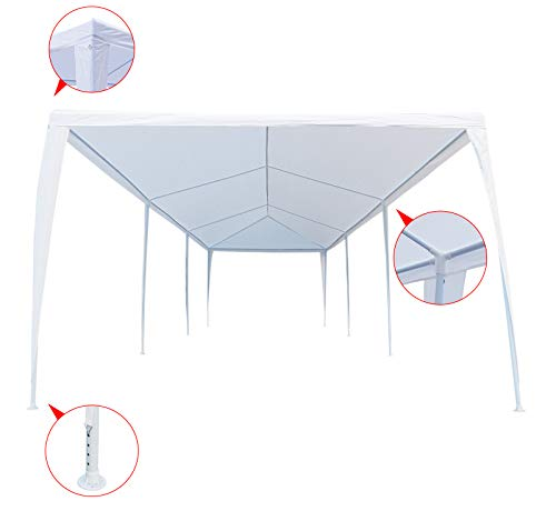 Wedding With White Tent: JOO LIFE 10′ X 30′ Canopy Party Wedding Tent Heavy Duty