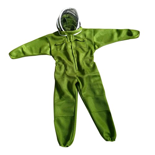 Jili-Online-Beekeeping-Protective-Equipment-Veil-Bee-FULL-BODY-Suit-Hat-Smock-Cotton-3-Sizes-Choices-0
