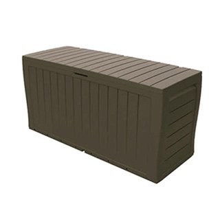 Keter-Marvel-Plus-All-Weather-IndoorOutdoor-Brown-Storage-Bench-4590L-x-1560W-x-2240H-0