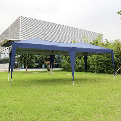 Kinbor-10×20-Outdoor-Gazebo-Canopy-Party-Wedding-Tent-for-Commercial-Activity-Pavilion-BBQ-Beach-Car-Shelter-0-2