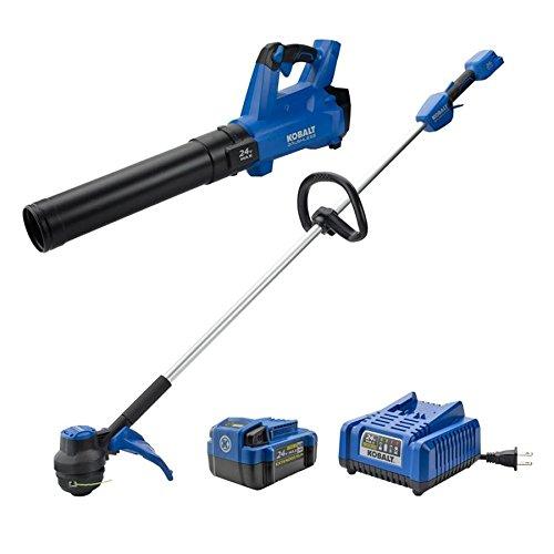 Kobalt-24-Volt-BL-Leaf-Blower-and-String-Trimmer-Combo-Kit-0