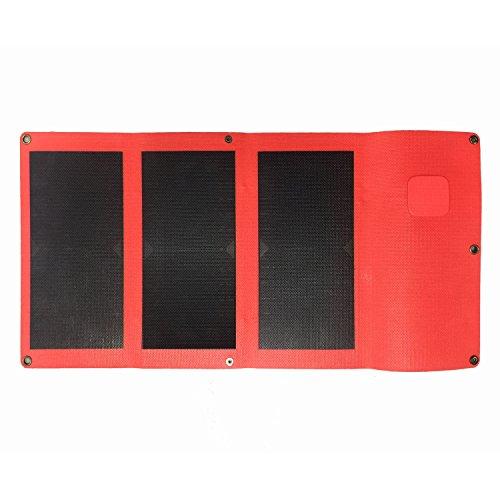 Leteng-Portable-Foldable-Solar-Charger-with-High-Efficiency-Solar-Panel-Quick-charge28W-5V-2-Port-USB-Reinforced-and-Waterproof-Backpack-and-OutdoorsFor-iPhoneipadSmart-Cell-PhoneMore-0