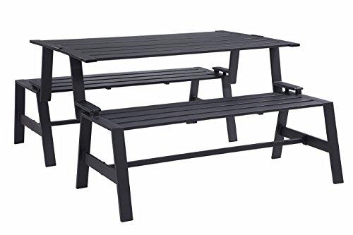 Liberty-Garden-Patio-SB-PBT-Cameron-Convertible-Bench-Black-0-0
