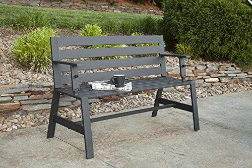 Liberty-Garden-Patio-SB-PBT-Cameron-Convertible-Bench-Black-0-1