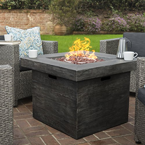 Livingston-Outdoor-4-Pc-Club-Chair-Set-wWater-Resistant-Cushions-Stone-Firepit-Grey-0-0