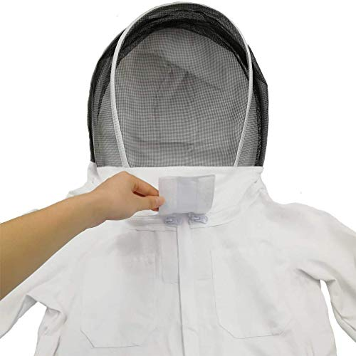 Luwint-Kids-Full-Body-Ventilated-Beekeeping-Suits-Camo-Cotton-Beekeeper-Suit-Self-Supporting-Fencing-Veil-Hood-0-1
