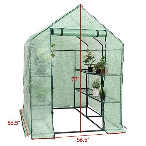 MD-Group-Portable-Greenhouse-8-Shelves-Garden-Nursery-Plants-Growth-House-Heavy-Duty-PE-Mesh-0-1