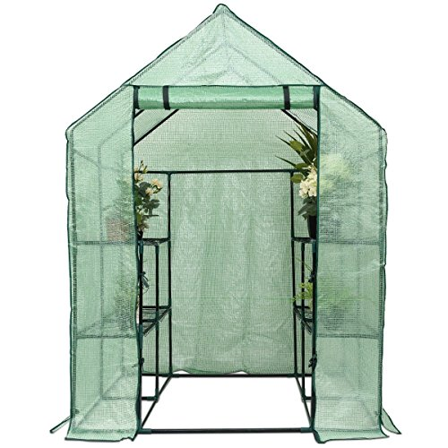 MD-Group-Portable-Greenhouse-8-Shelves-Garden-Nursery-Plants-Growth-House-Heavy-Duty-PE-Mesh-0