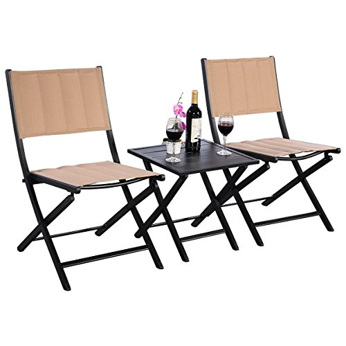 MRT-SUPPLY-3PCS-Furniture-Outdoor-Patio-Folding-Square-Table-Chairs-Set-Bistro-Garden-with-Ebook-0