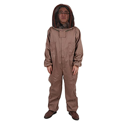 MU-DUO-DUO-All-in-One-Apiarist-Beemaster-Beekeeping-Suit-with-Veil-for-Total-Protection-Cotton-Bee-Clothing-0-0