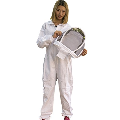 MU-DUO-DUO-All-in-One-Apiarist-Beemaster-Beekeeping-Suit-with-Veil-for-Total-Protection-Cotton-Bee-Clothing-0
