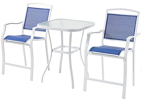 Mainstay-3-Piece-Bar-Height-Bistro-Table-Chair-Set-Patio-Furniture-Outdoor-New-Deck-Backyard-0-0