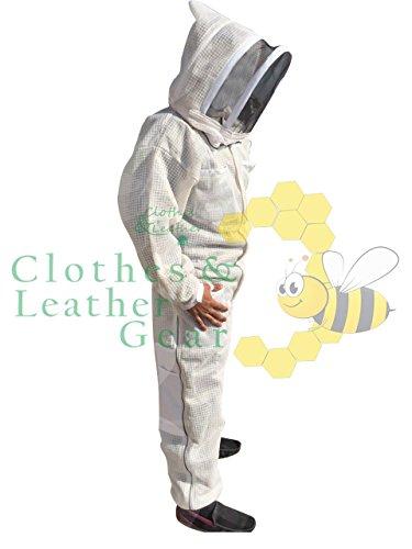 Massivebee-Beekeeping-Leg-Ziper-Ultra-Ventilated-Suit-with-domo-fencing-veil-bee-suit-0-0