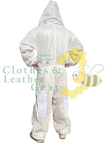 Massivebee-Beekeeping-Leg-Ziper-Ultra-Ventilated-Suit-with-domo-fencing-veil-bee-suit-0-1