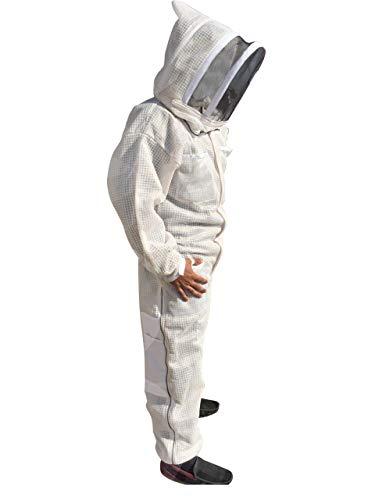 Massivebee-Beekeeping-Leg-Ziper-Ultra-Ventilated-Suit-with-domo-fencing-veil-bee-suit-0